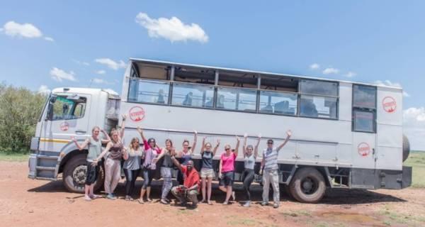 Overland African safari tours Kenya Group