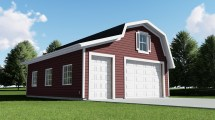 Home with Detached Garage Designs