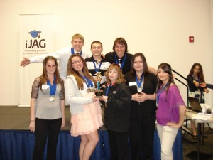 Awards given at  iJAG Career Development Conference