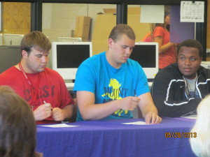 1213 Athletes Sign