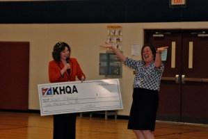 Hawthorne Teacher Receives KHQA Award