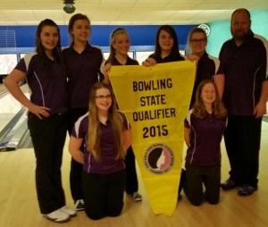 Girls Bowling State Bound