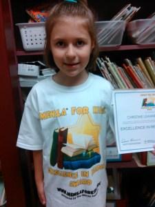 Book Reading Award