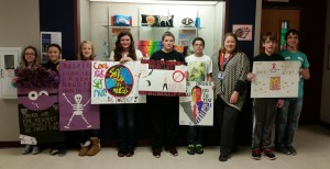 Red Ribbon Poster Winners