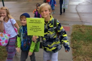 International WalkTo School Day