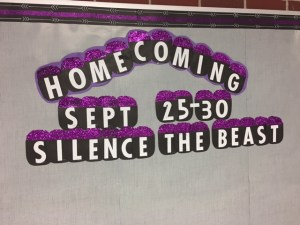 Homecoming 2017 Theme Announced