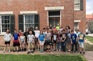 GW TAG Toured Historic Quincy Underground Railroad Home