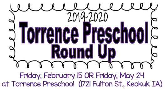 2019-20 Torrence Preschool Round Up
