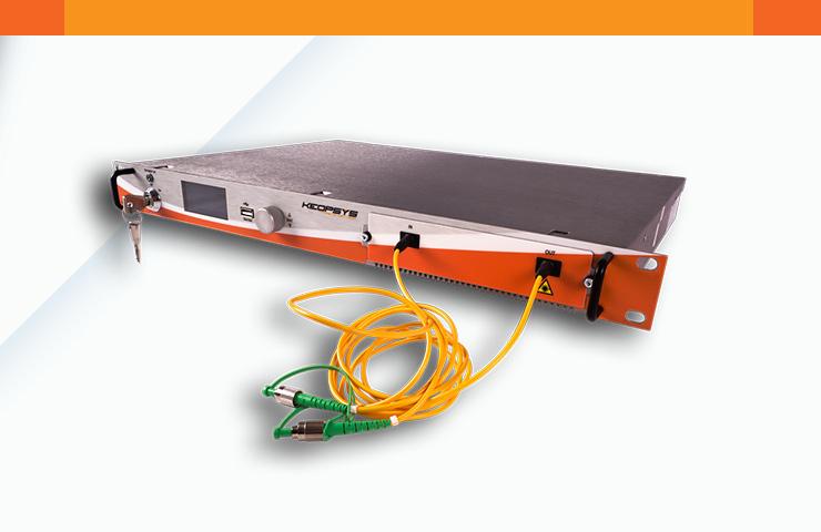 CEFA-C-WDM-LP] Erbium doped fiber amplifiers for DWDM - Keopsys