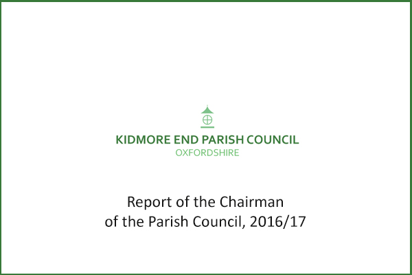report chairman new