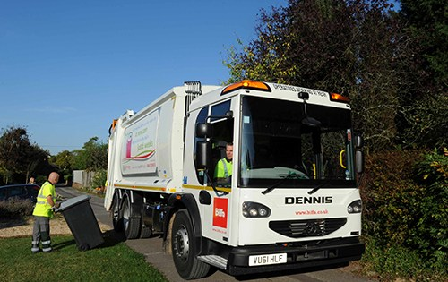 reporting missed bin collection to biffa south oxfordshire