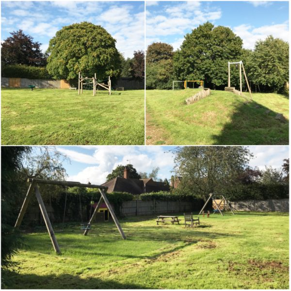 kidmore end butlers orchard playground kidmore end parish council oxfordshire collage