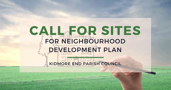 CALL FOR SITES KIDMORE END NDP
