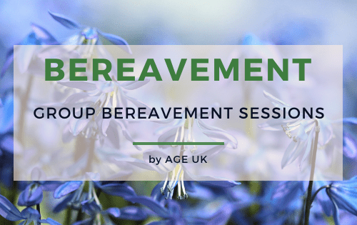 group bereavement sessions oxfordshire age uk