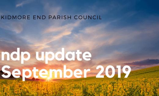 ndp update september 2019 kidmore end