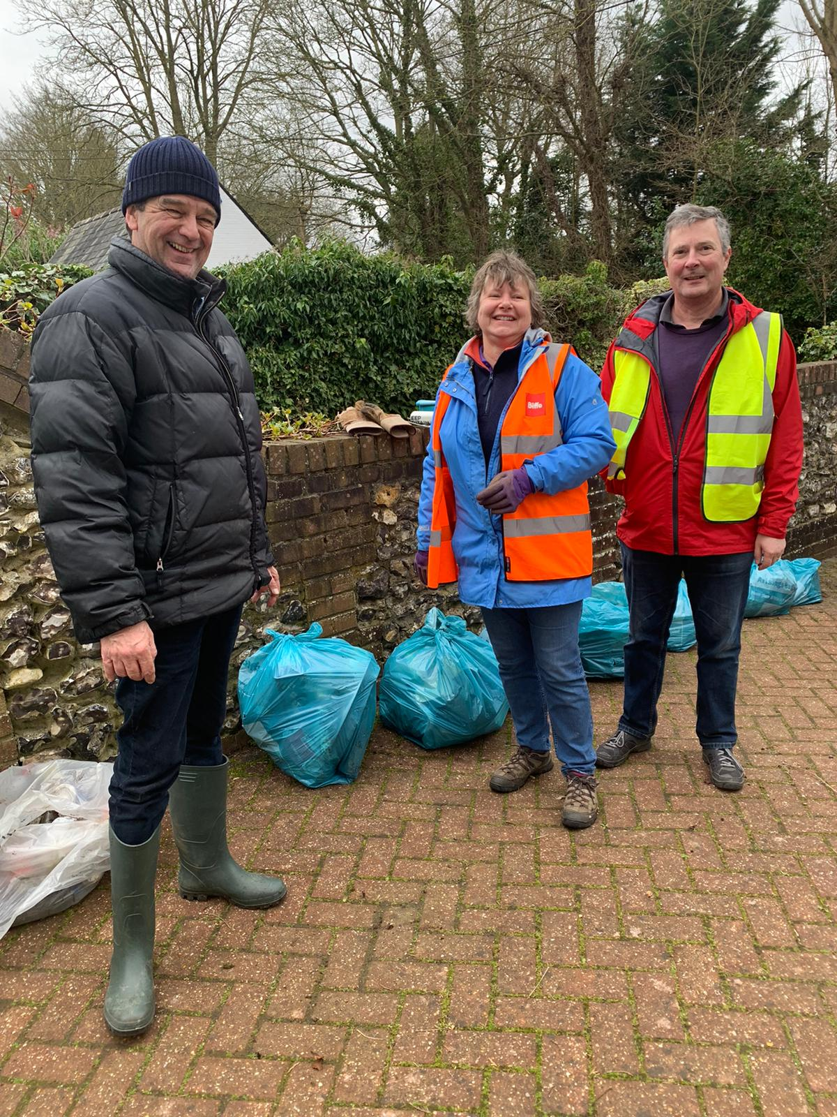 Litter pick up 2 - March 15th