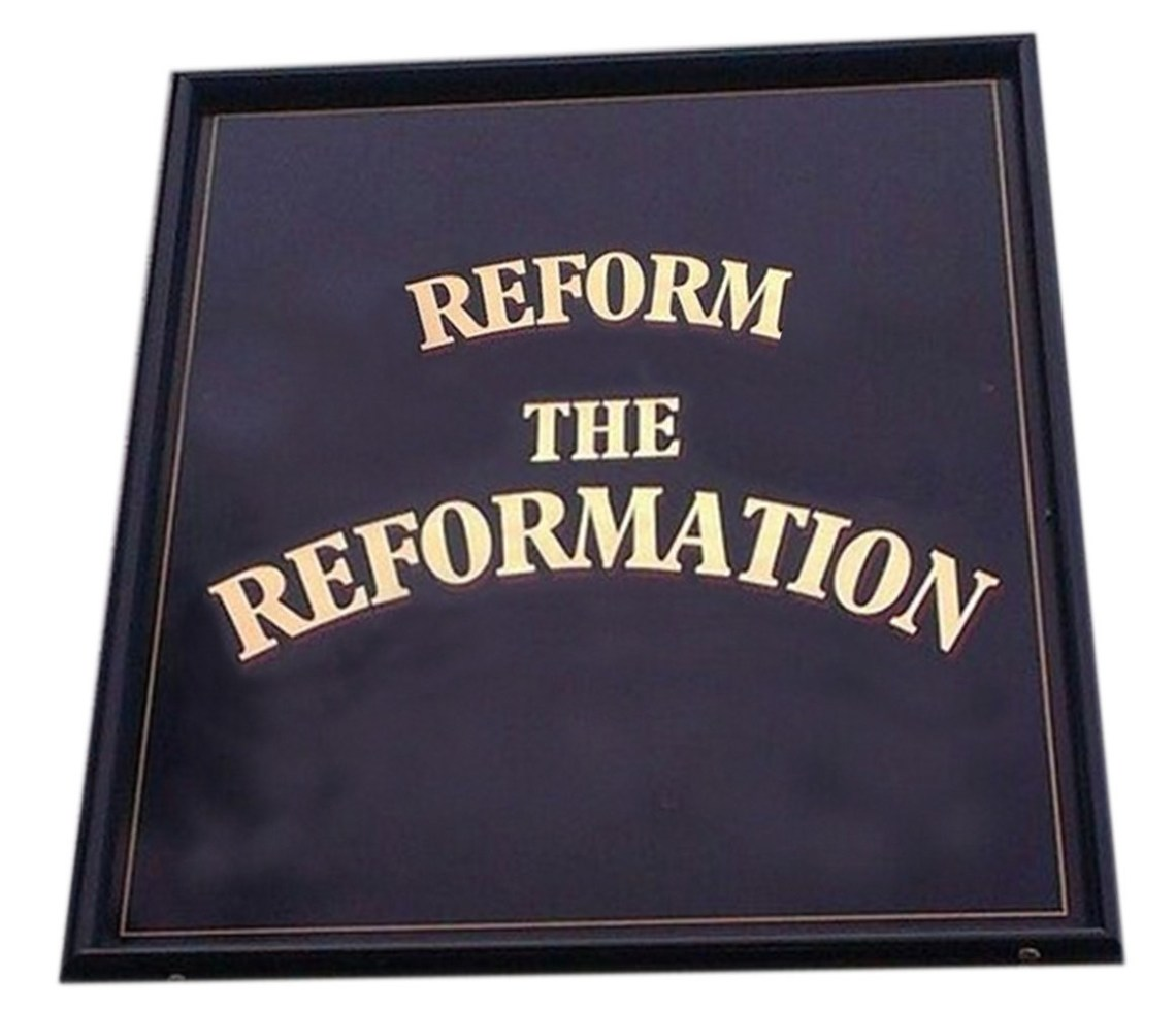 reform the ref Gallowstree Common