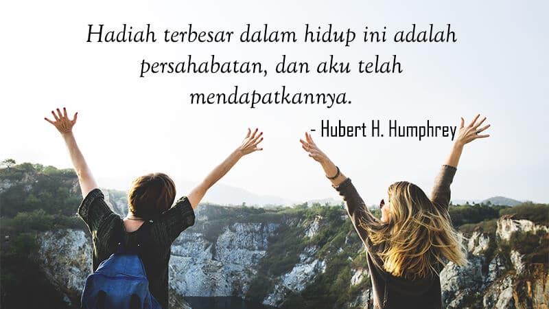Kata Kata Mutiara untuk Sahabat Sejati yang Menyentuh Hati