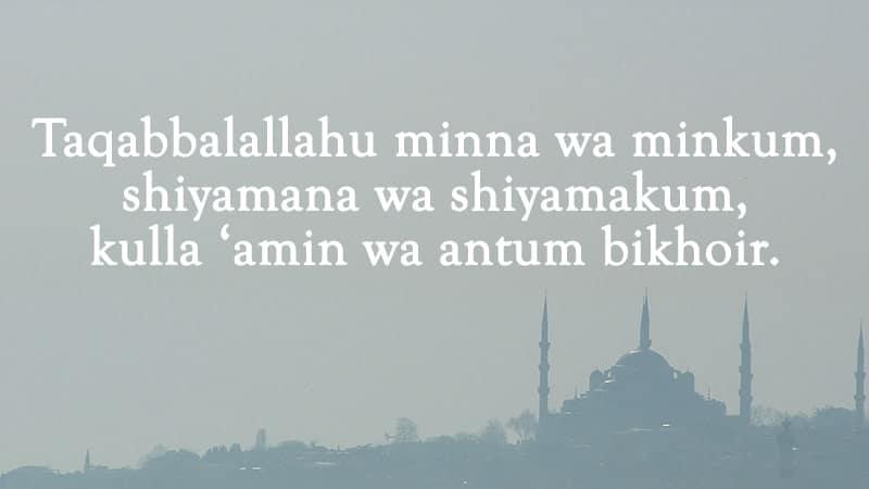 Ucapan Selamat Hari Raya Idul Fitri Dalam Berbagai Bahasa Kepogaul