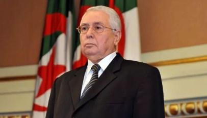 bensalah président par intérim de l'algérie