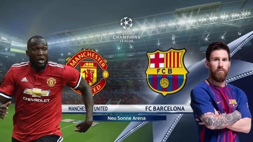les compostions probables manchester united-barcelone