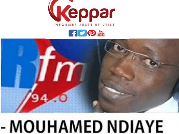 Revue de presse avec Mamadou Mouhamed Ndiaye