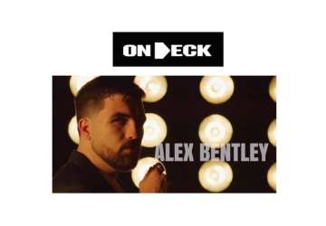 "In the ""On Deck"" circle: Alex Bentley"