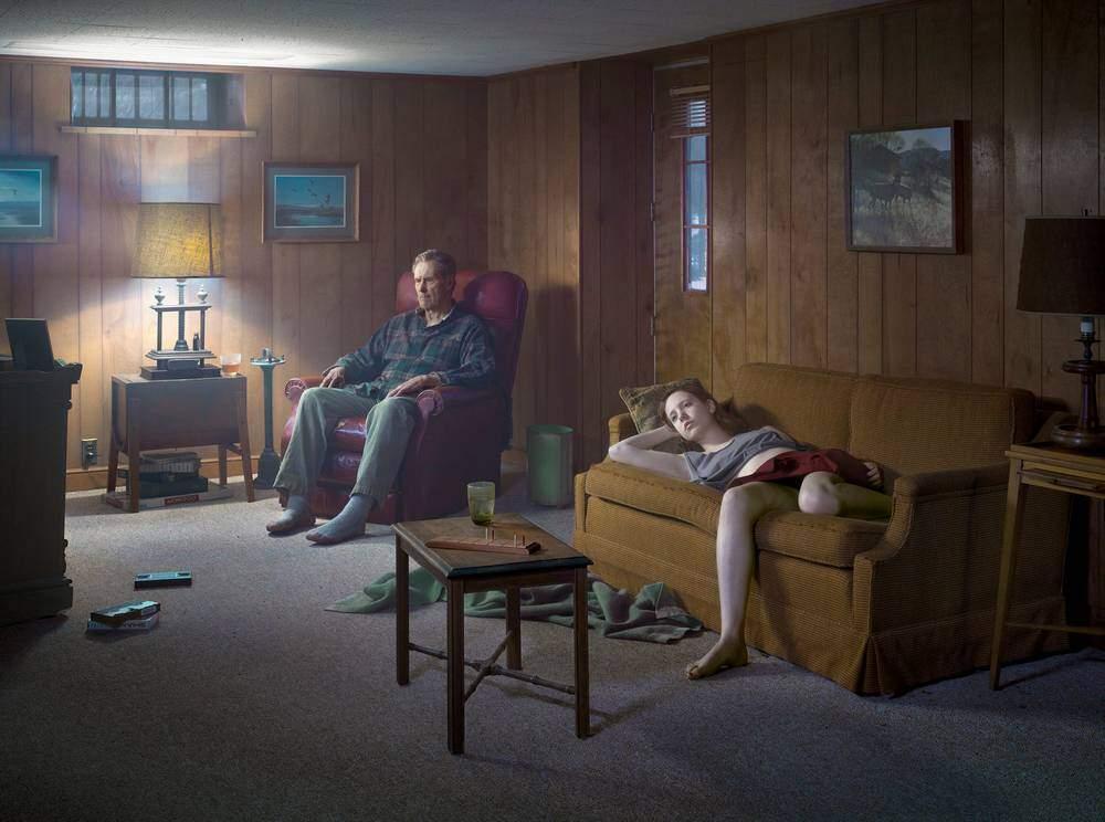 Gregory Crewdson, The Basement. 2014