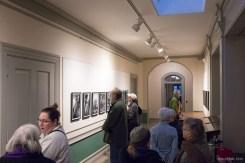 Visitors enjoying the photographs