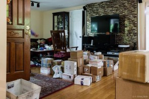 Boxes, coming and going