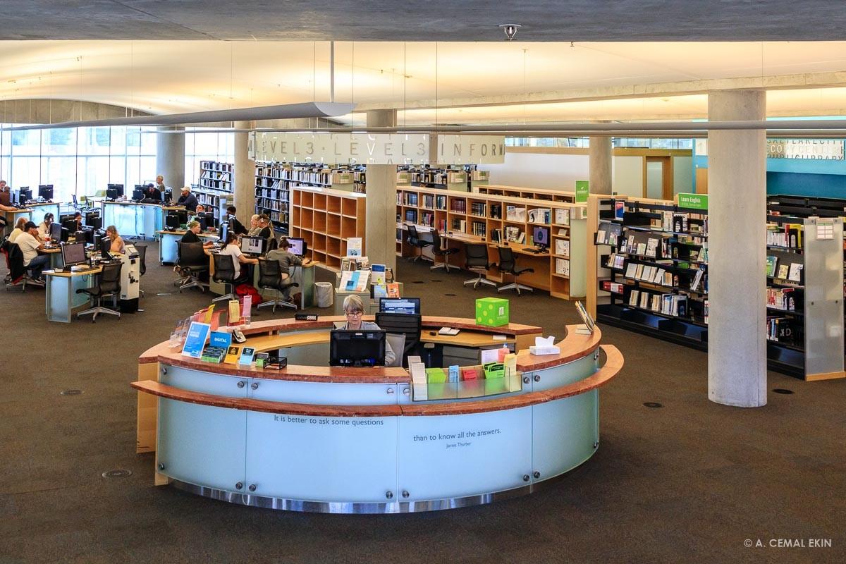 Salt Lake City Public Library - A. Cemal Ekin