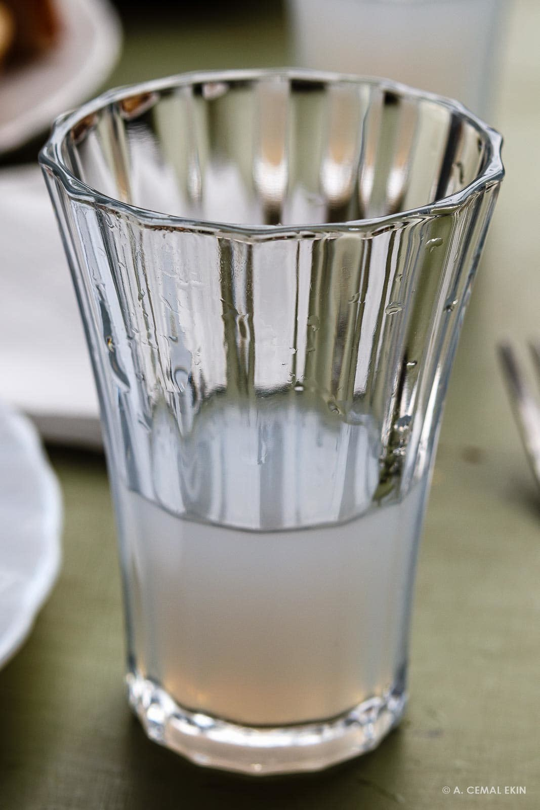 Excellent homemade raki