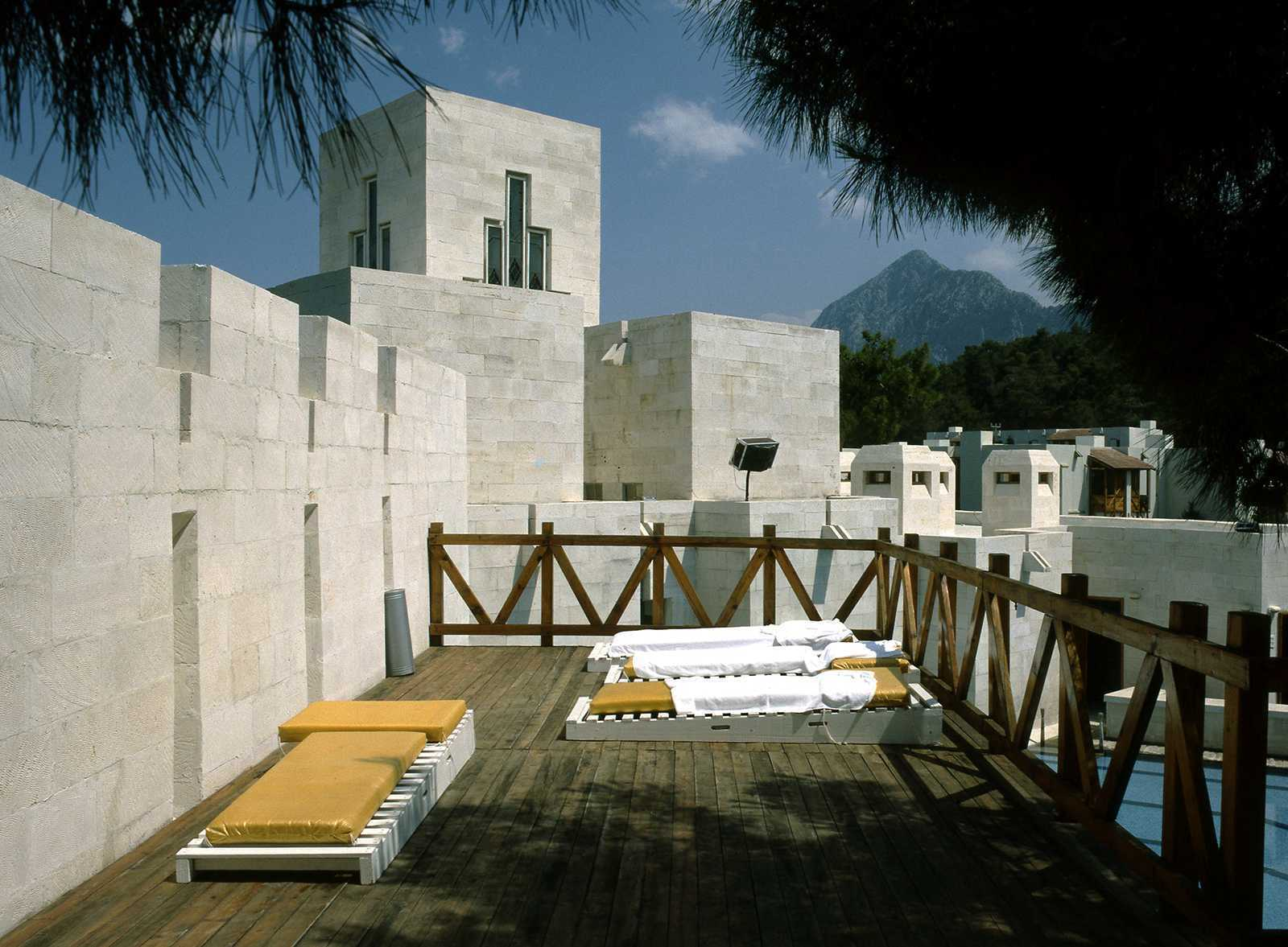 Milta Vacation Village, Birlesmis Mimarlar (United Architects), Bodrum, 1986.