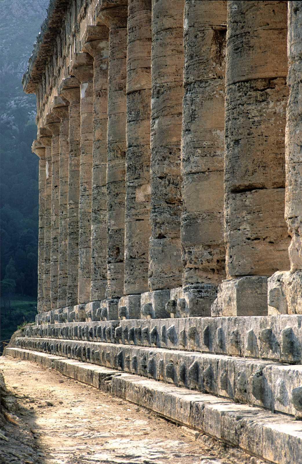 Segesta Temple, Sicily, Italy, 2000.