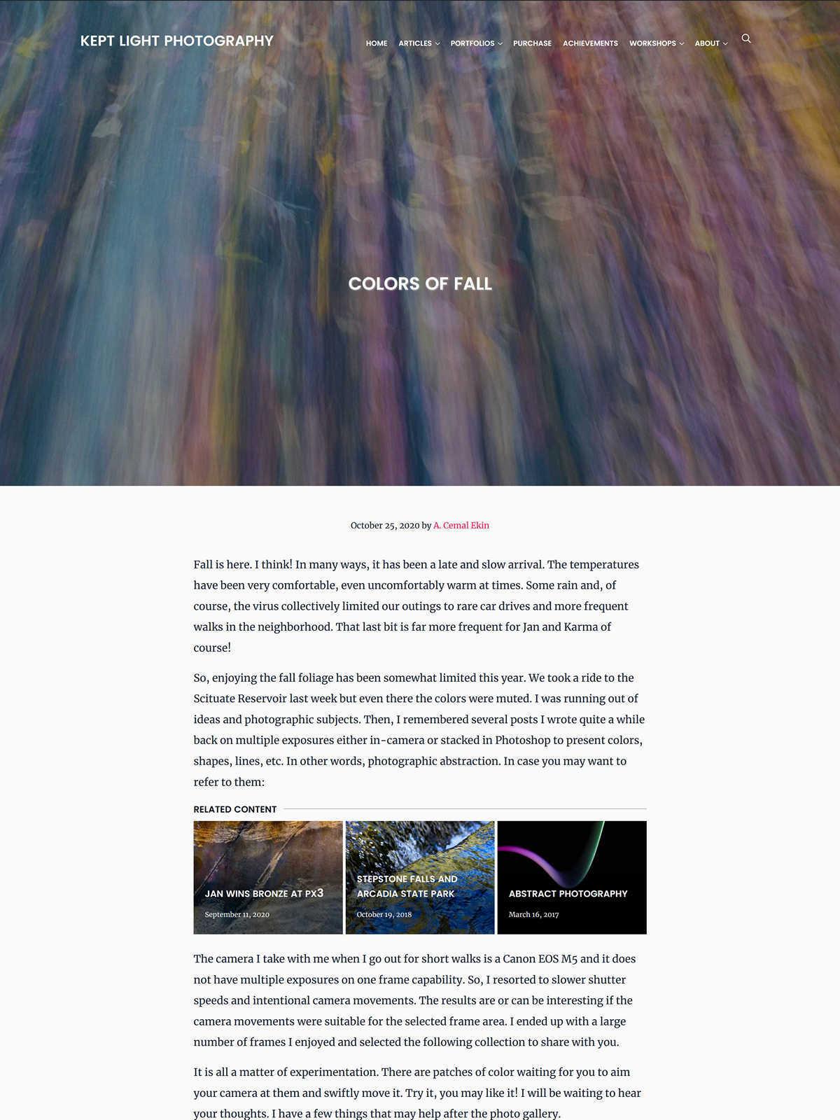 Page header, no lead image