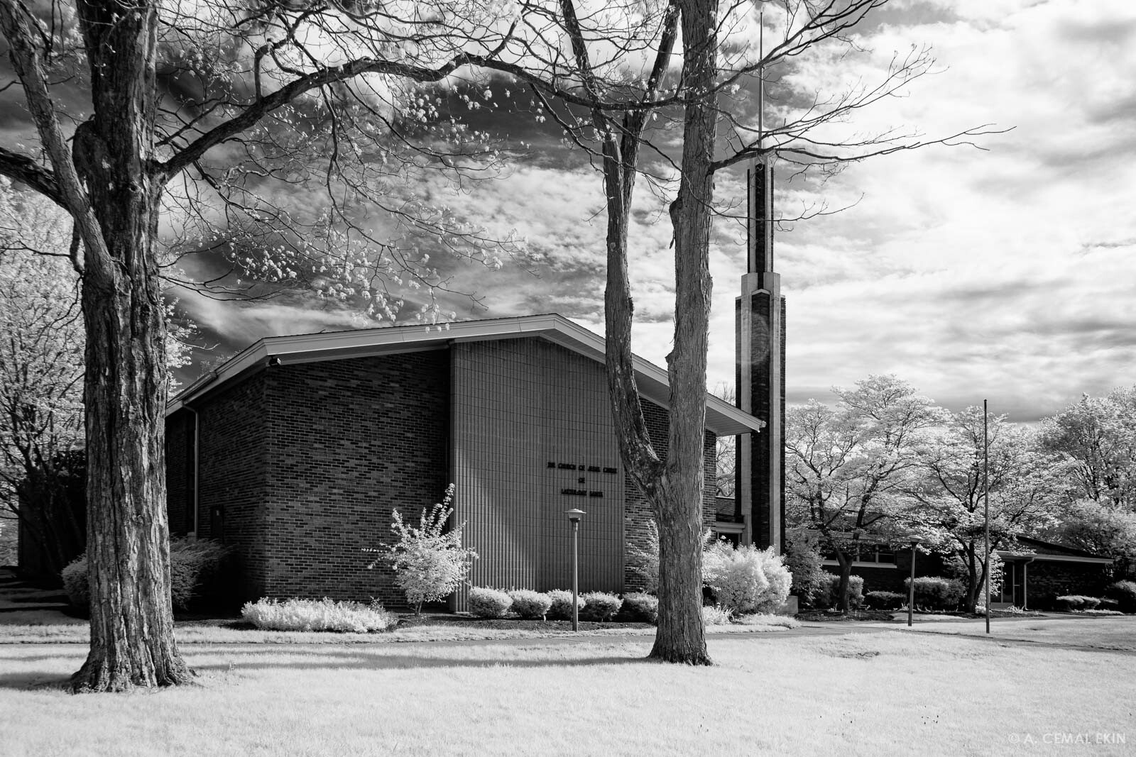 The Church of the Latter-day Saints, infrared