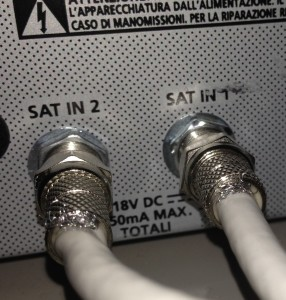 Decorder SKY - Ingressi antenna