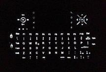 Tastiera Rii wireless - Retroilluminazione