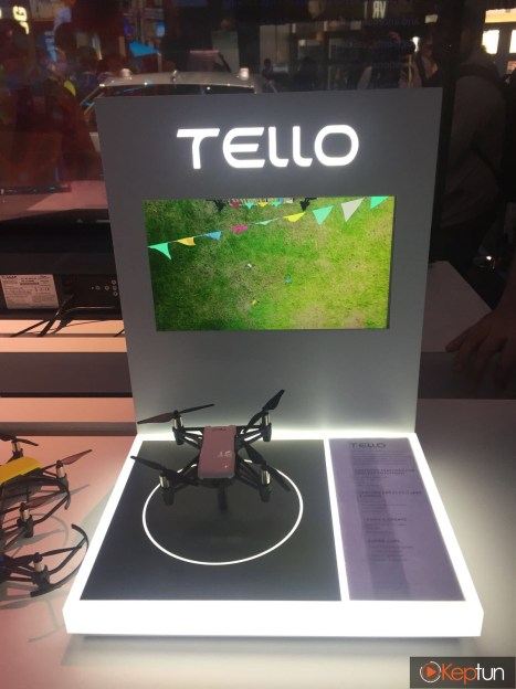 CES 2018 DJI Tello stand