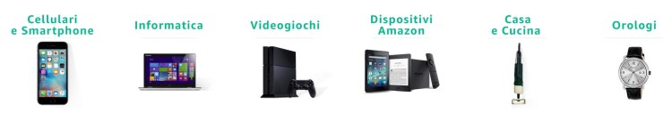 Amazon renewed categorie