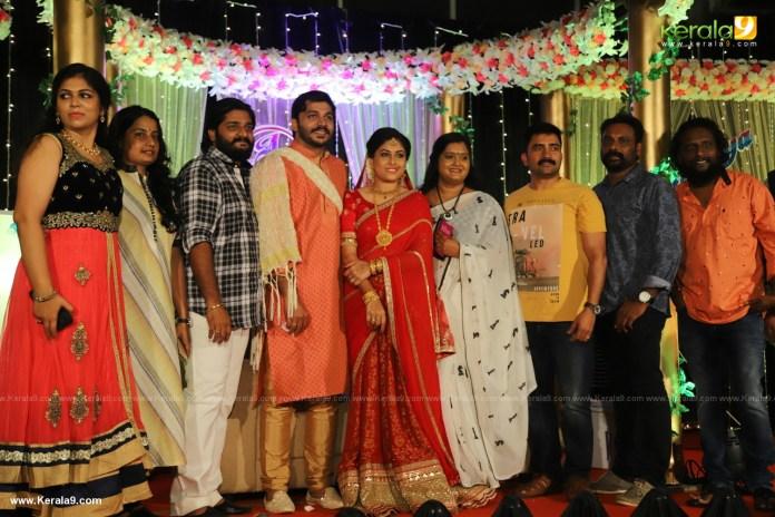 Anjali Nair Brother Ajay Wedding Reception photos 043