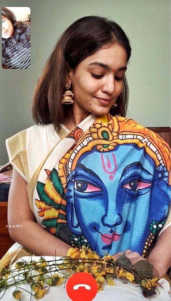 saniya iyappan vishu celebration pics 002