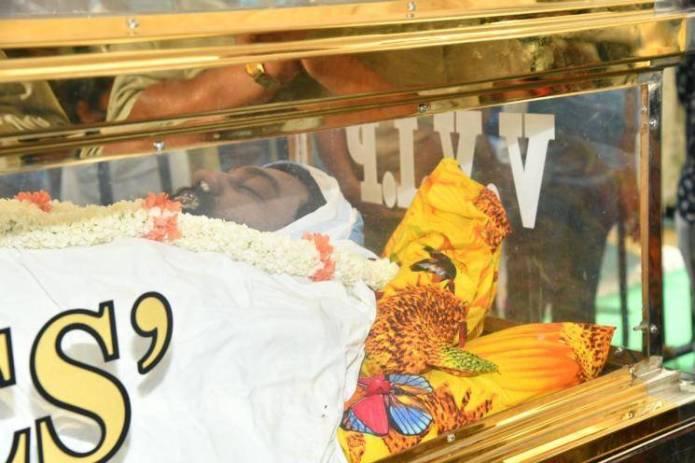 Meghana Raj Husband Chiranjeevi Sarja Funeral Photos 009