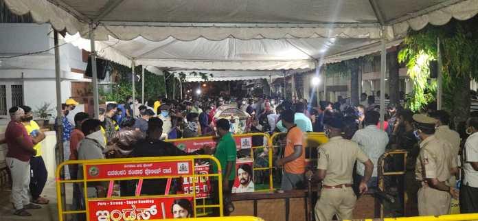 Meghana Raj Husband Chiranjeevi Sarja Funeral Photos 010