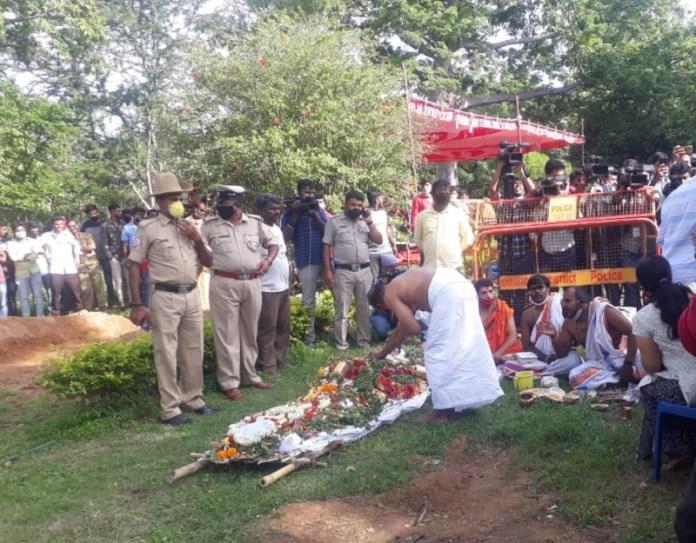 Meghana Raj Husband death Photos 003