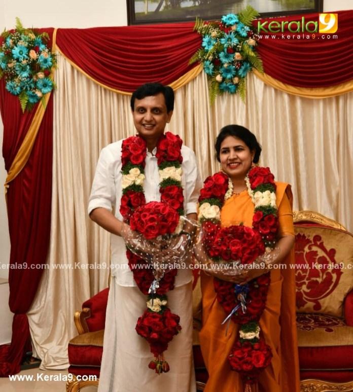pinarayi vijayan daughter marriage photos 001