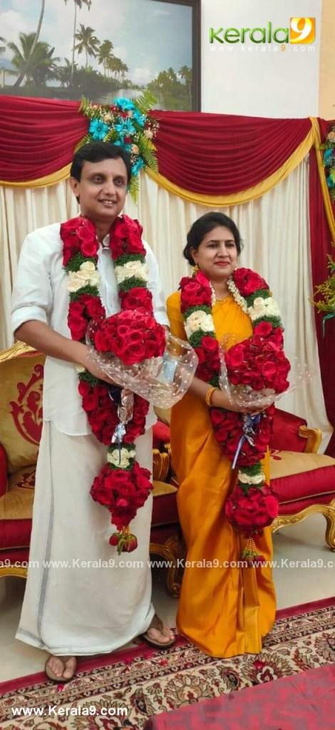 pinarayi vijayan daughter marriage photos 004