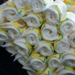 Baby Diaper Cakes Are A Hit During Baby Showers!