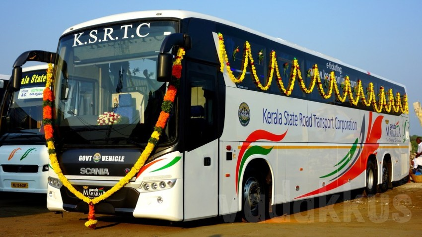 Kerala-KSRTC-New-Scania--Bus
