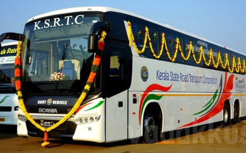 Kerala-KSRTC-New-Scania--Bus